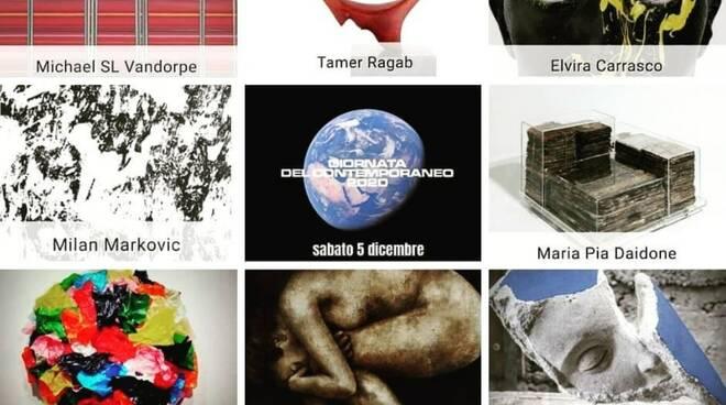 SyArt Gallery partecipa alla #giornatadelcontemporaneo