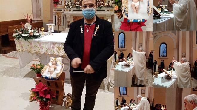 Oggi 25 dicembre è nato Gesù Bambino. Dal Cav. N. H. don Attilio De Lisa del Comune di Sanza nella Diocesi di Teggiano-Policastro gli Auguri di un Santo Natale 2020.