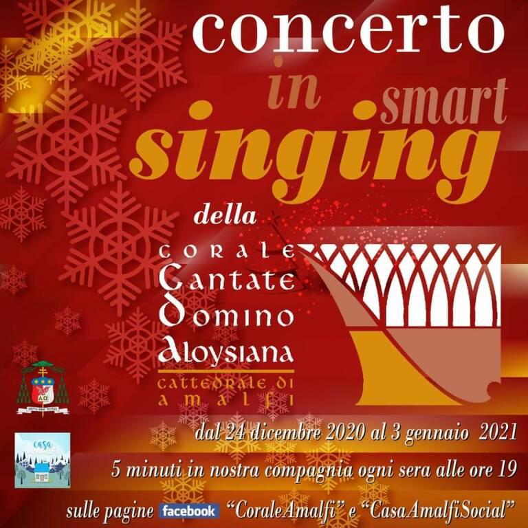 """Casa Amalfi, l'emergenza sanitaria non ferma il canto: arriva il concerto in """"smart singing"""""""
