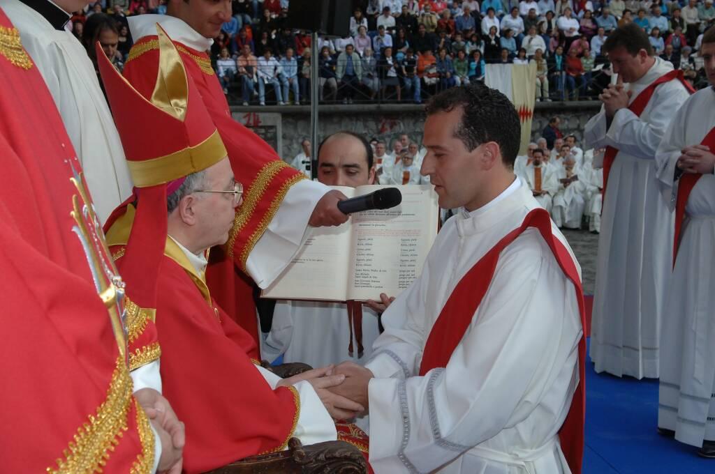 Don Maurizio Esposito prete parroco Moiano di Vico Equense