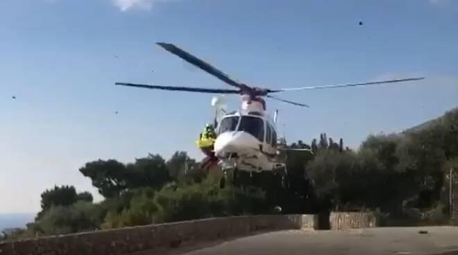 elicottero conca