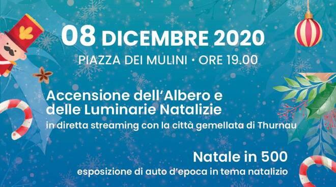 Grande evento a Positano: domani l'accensione dell'albero in diretta, in contemporanea con Thurnau