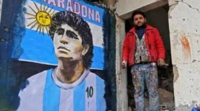 maradona in siria