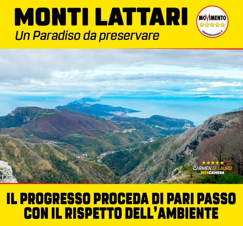 Monti Lattari piloni Enel
