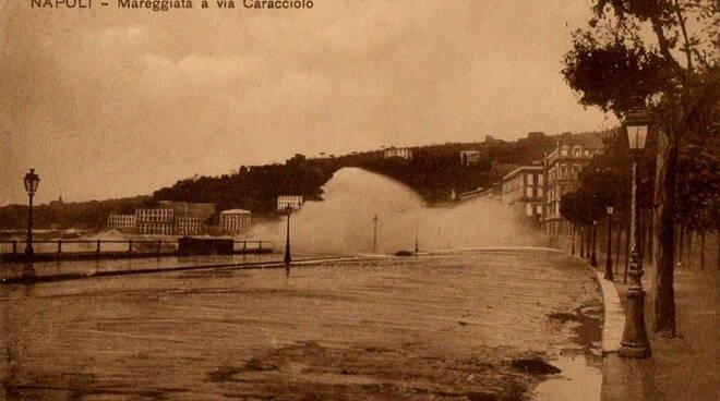 napoli mareggiata 1927