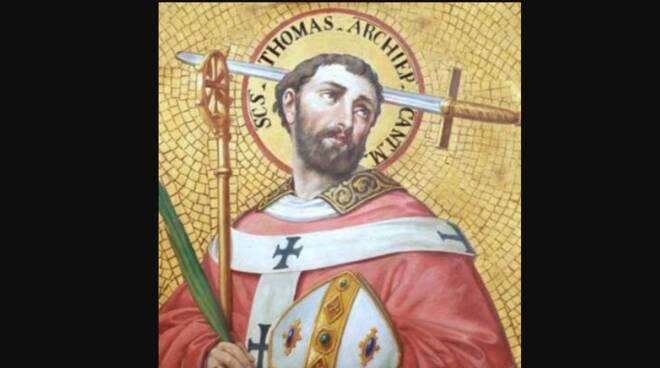 Oggi la Chiesa festeggia San Tommaso Becket