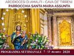 Positano, il programma delle celebrazioni religiose dal 7 al 13 dicembre