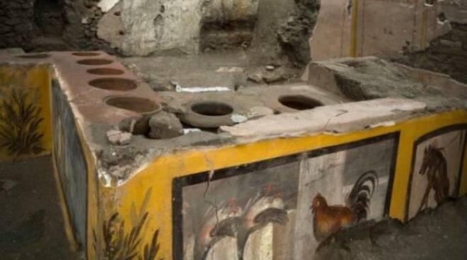 termopolio scavi pompei