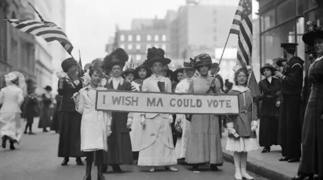 USA, cento anni fa il voto alle donne