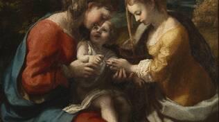 2 - Correggio, Sposalizio mistico di Santa Caterina, Capodimonte_ph.L.Romano_7235