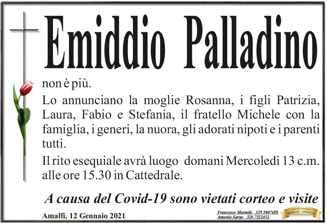 Amalfi in lutto: ci ha lasciati Emiddio Palladino
