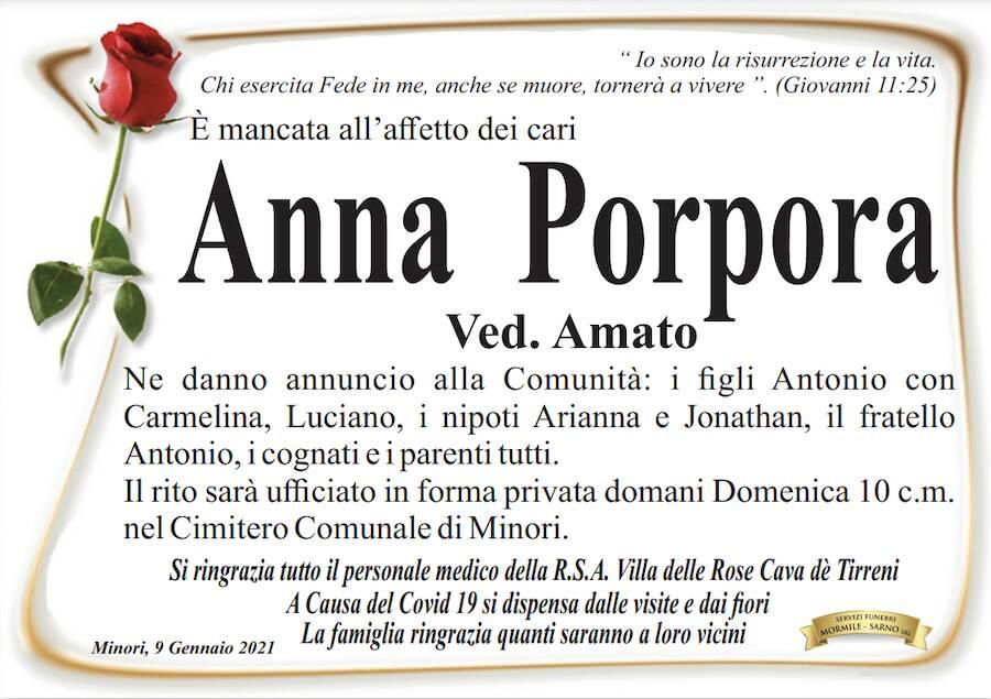 anna porpora