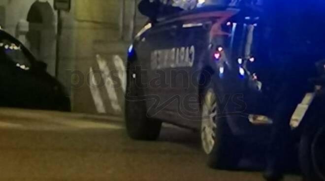 Carabinieri Positano notte