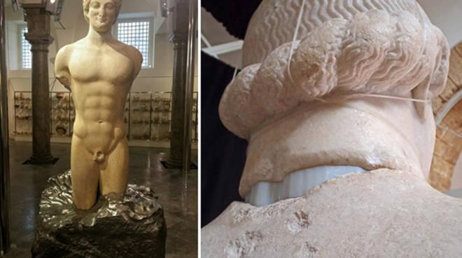 Il Kouros di Lentini, un\'altra spettacolare opera dell\'antichità torna a incantare il Mondo.