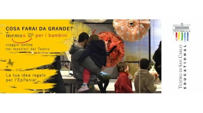 Cosa farai da grande? Un viaggio nelle arti e nei mestieri del Teatro San Carlo rivolto a tutti i bambini