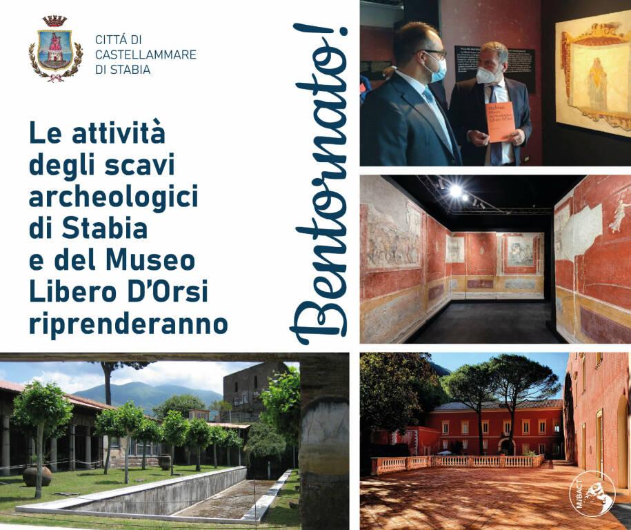 Castellammare di Stabia: il museo Archeologico Libero D'Orsi e gli Scavi riaprono al pubblico!