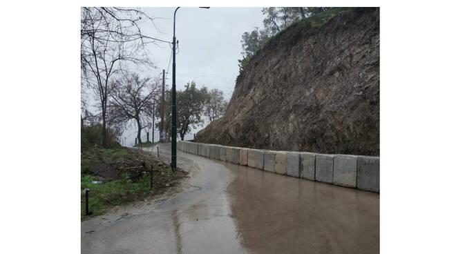 Cava de' Tirreni, riaperta la strada alla località Petrellosa