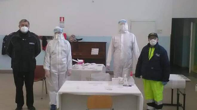 Coronavirus, si è conclusa oggi la prima giornata di screening a Vico Equense