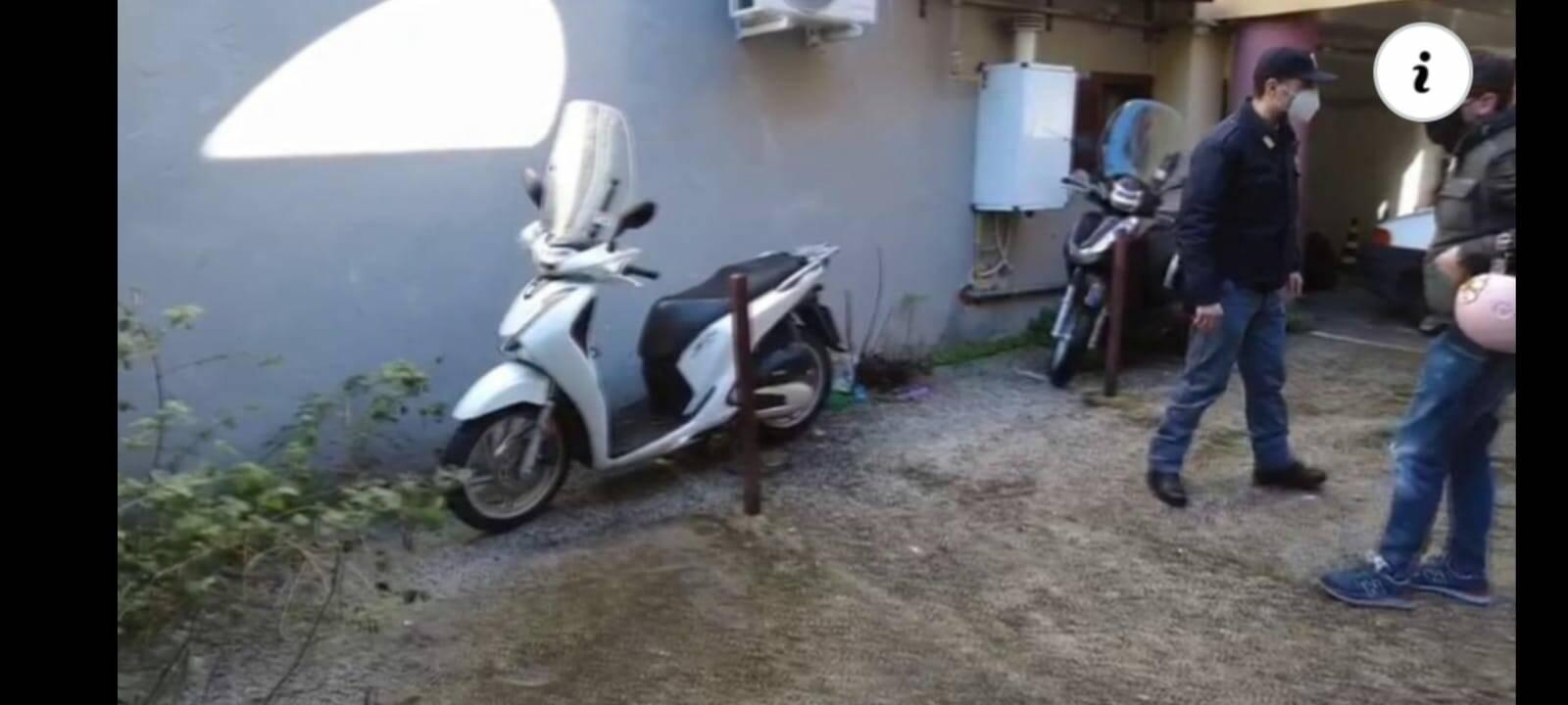foto scooter ritrovato