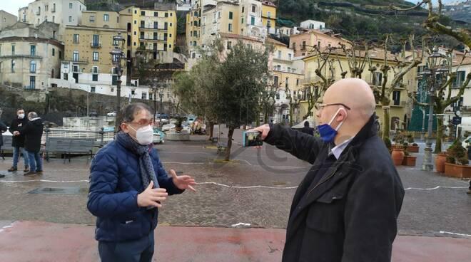 Minori, il sindaco Andrea Reale sui contagi in costiera amalfitana e la campagna di vaccinazione