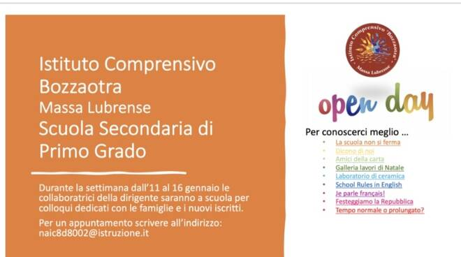 open day bozzaotra