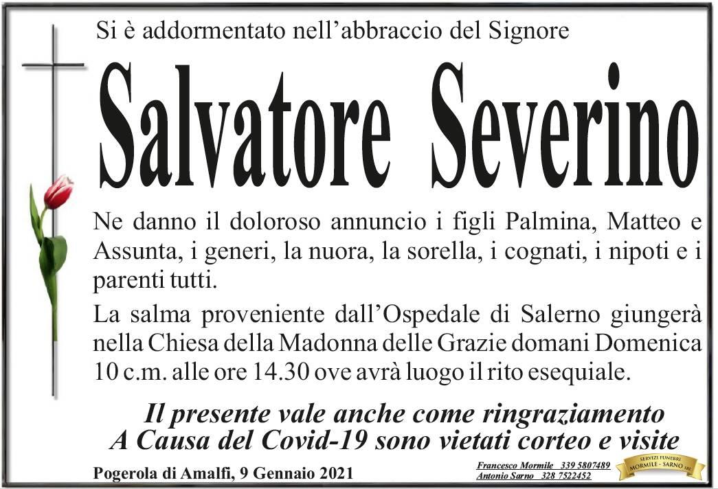 Pogerola di Amalfi: Salvatore Severino si è addormentato nelle braccia del Signore