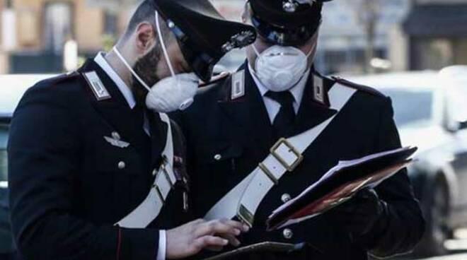 Positano e Costiera amalfitana controlli anti Covid dei carabinieri
