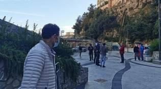 Positano scrrening Piazza dei Mulini