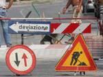 Praiano, restringimento carreggiata SS 145 Sorrentina e dispositivo circolazione