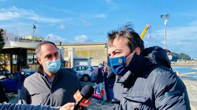 Procida, Dino Ambrosino e Vincenzo Amendola