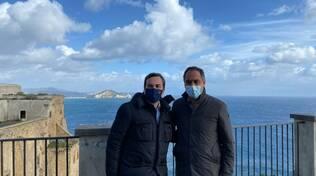 Procida, Ministro Vincenzo Amendola e Sindaco Dino Ambrosino