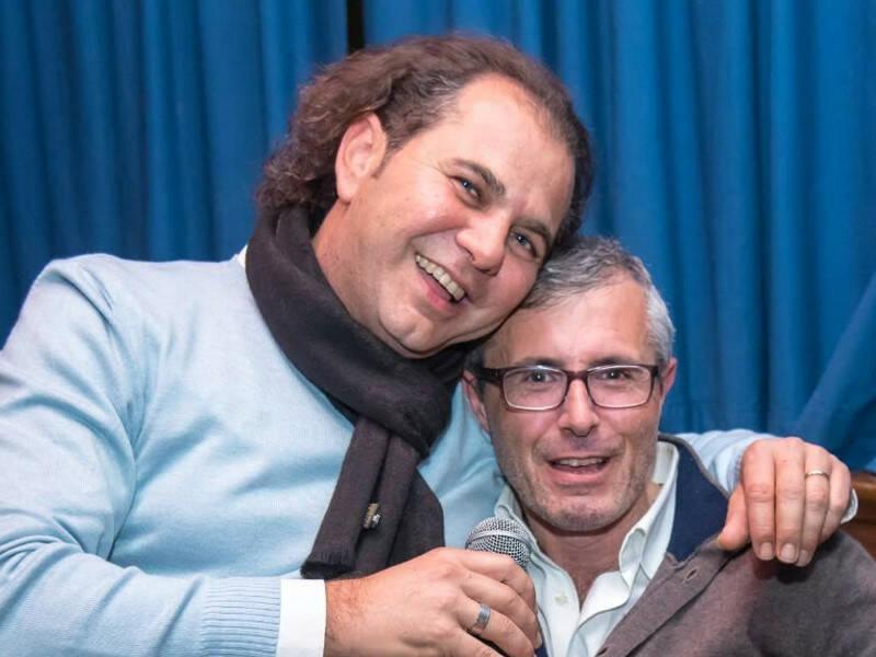 Roberto Porzio e Peppe Tito