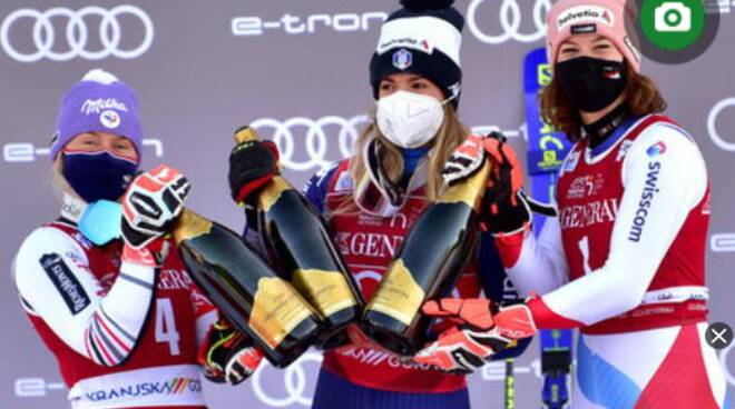 Sci: super Marta Bassino, vince gigante Kranjska Gora