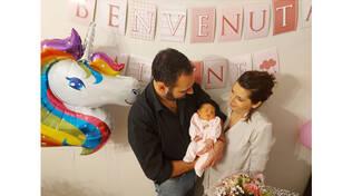 Sorrento, auguri a Biagio e Marida per la nascita della piccola Irene