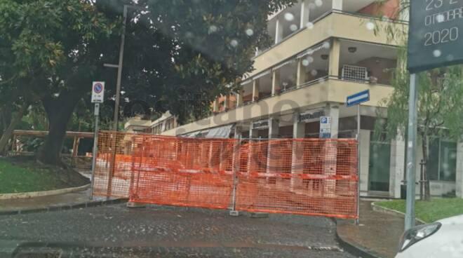 """Sorrento, piazza Lauro """"sfortunata"""": continuano i lavori"""