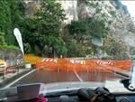 Sorrento strada chiusa a Via Capo