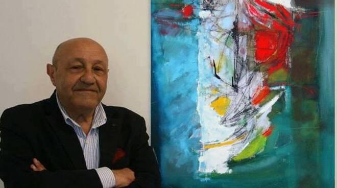 1 - Alfredo Avagliano e una sua recente opera