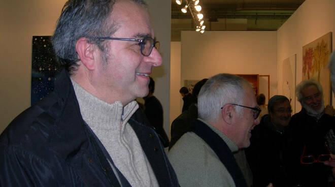 1 - -Foto Maurizio Vitiello - alfredo celli-mimmo-paladino-lucio-dalla-mimmo-jodice-ad-arte-fiera-in-passato