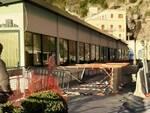 Amalfi crolla percorso pedonale sul Lungomare dei Cavalieri