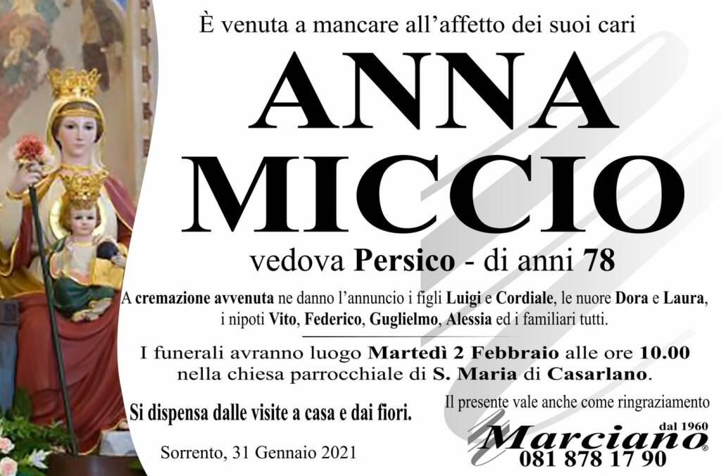 anna miccio