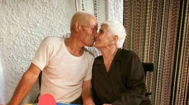 Auguri alla coppia più longeva del Cilento per le nozze di platino!