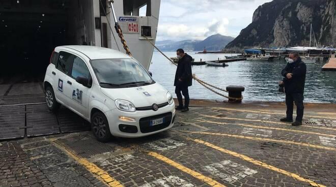 Capri, una vettura dall'ASL NA1 per assistenza ai pazienti con patologie psicologiche