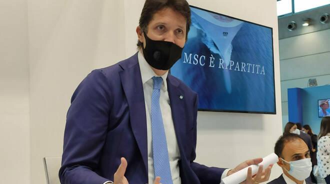 Voglia di vacanze in sicurezza Leonardo Massa presenta la nuova ammiraglia MSC Virtuosa