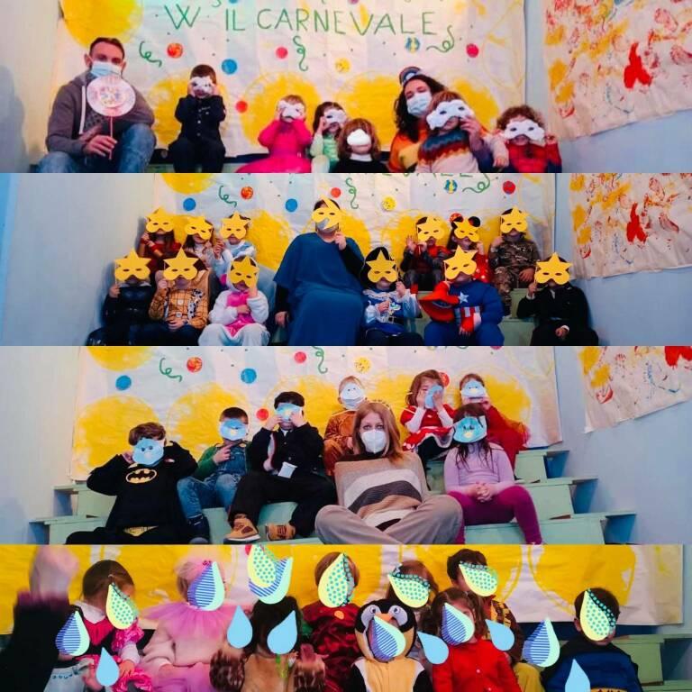 Carnevale a Positano: felice giorno di festa dalla Fondazione Asilo Infantile Luigi Rossi