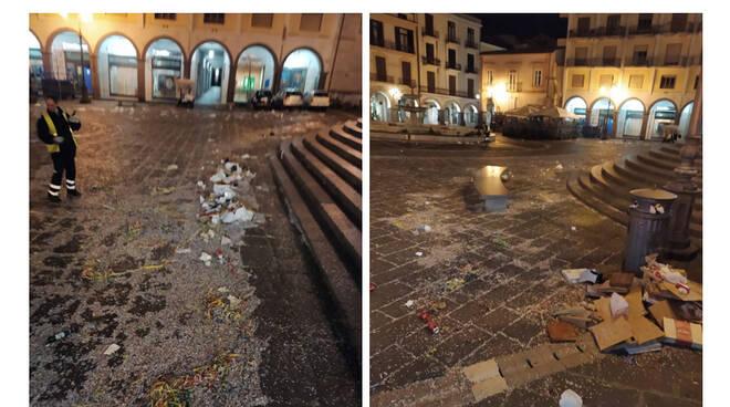 Cava de' Tirreni, ieri Corso Umberto I preso d'assalto