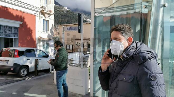 Da Positano la solidarietà ad Amalfi: oggi l'organizzazione dell'USCA per effettuare i tamponi come previsto