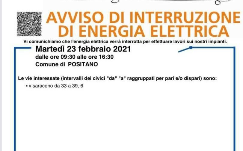 energia positano 23 febbraio