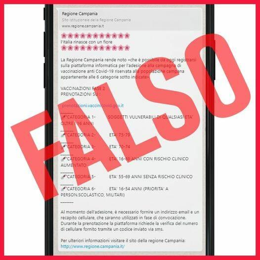 Fase 2 campania Fake news