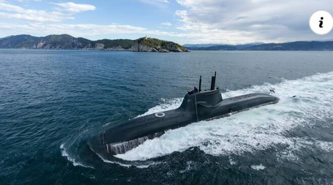 Fincantieri, contratto da 1,35 miliardi per due sottomarini per la Marina Militare