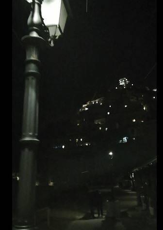 Fiocchi di neve a Positano